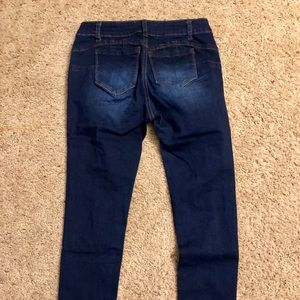 Fashion Nova Jeans - Fashion nova work for it destroyed jeans